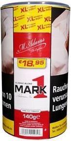 Mark Adams No1 Red Classic Blend Tabak 140g Dose (Drehtabak / Feinschnitt)