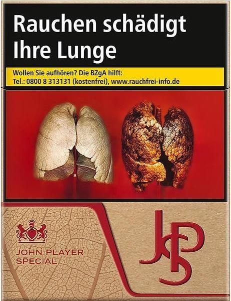 John Player JPS Just Red Zigaretten (21 StüŸck)