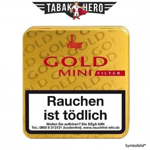 Villiger Gold Mini Filter (10x20 Zigarillos)