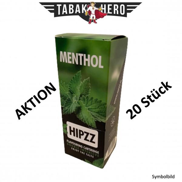 HIPZZ Aromakarten Menthol - 20 Stück Aroma Karten (wie Rizla)
