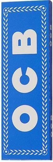 25 x 50 Blatt OCB Blau 50 Drehpapier/ Blättchen/ Zigarettenpapier