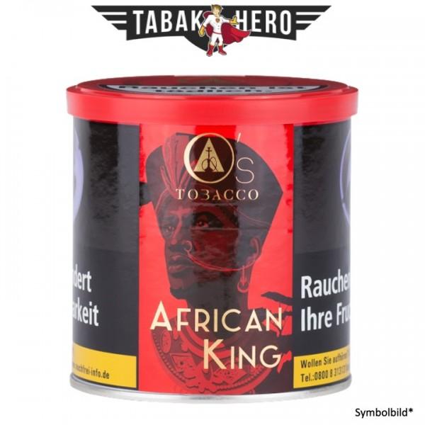 O's Tobacco Red - African King 200g Shisha Tabak