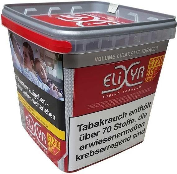 Elixyr Tabak 330g Eimer (Stopftabak / Volumentabak)