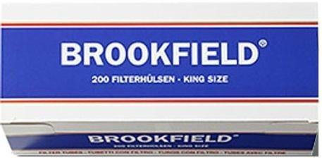 1000 Stück Brookfield Hülsen Filterhülsen Zigarettenhülsen Stopfhülsen
