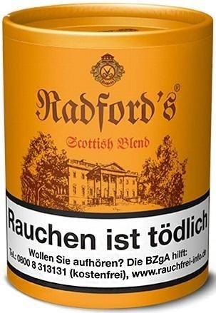 Radford`s Scottish Blend Tabak 200g Dose (Pfeifentabak)
