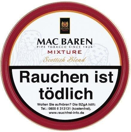 Mac Baren Mixture (Scottish Blend) Tabak 100g Dose (Pfeifentabak)