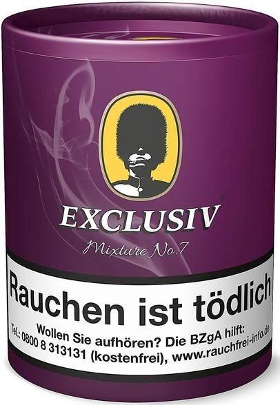 Exclusiv Mixture No.7 (Plum&Rum) Tabak 200g Dose (Pfeifentabak)