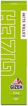 50x66 Blatt Gizeh Fine Extra Slim Papers Drehpapier/ Blättchen/ Zigarettenpapier