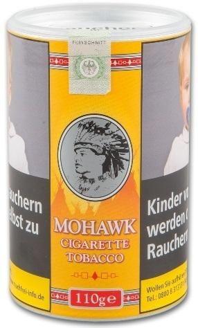 Mohawk Cigarette Tobacco Tabak 110g Dose (Drehtabak / Feinschnitt)