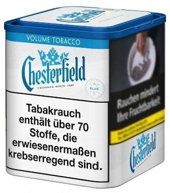 Chesterfield Blue XL Tabak 45g Dose (Stopftabak / Volumentabak)