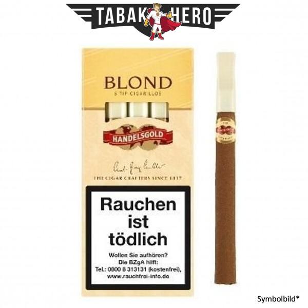Handelsgold 210 Tip Blond (Vanilla) (10x5 Zigarillos)