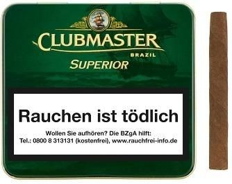Clubmaster Brasil 144 (10 x 20 Zigarillos)