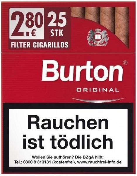 Burton Original XL (8 x 25 Zigarillos)