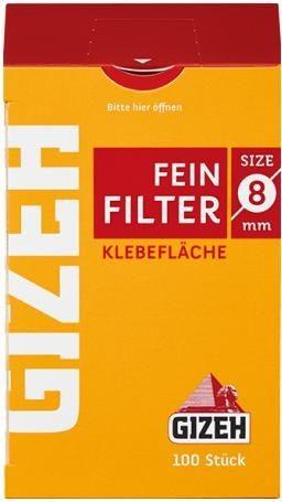 10 x 100 Stück Gizeh Filter Feinfilter