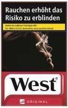 West Red Zigaretten (20 Stück)