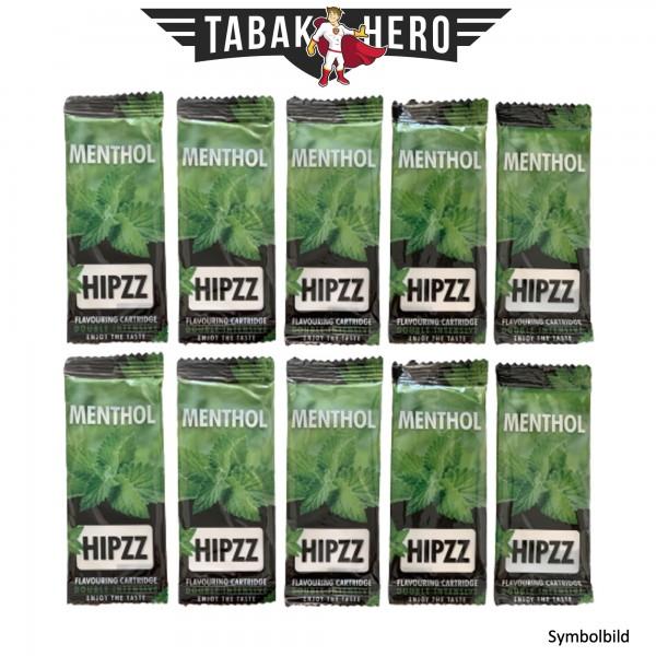 HIPZZ Aromakarten Menthol - 10 Stück Set Aroma Karten (wie Rizla)