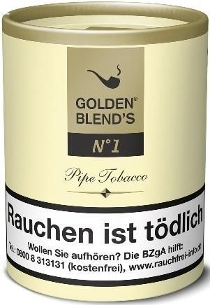 Golden Blend's No.1 (Vanilla) Tabak 200g Dose (Pfeifentabak)