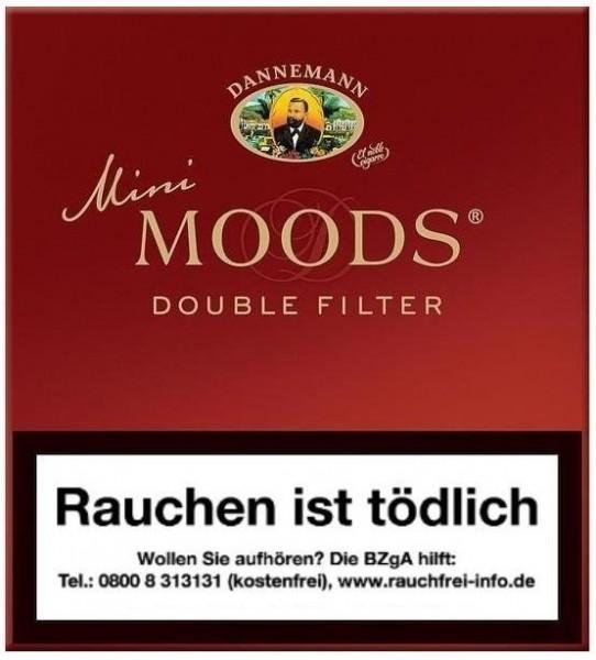 Dannemann Moods Mini Double Filter (10 x 10 Zigarillos)