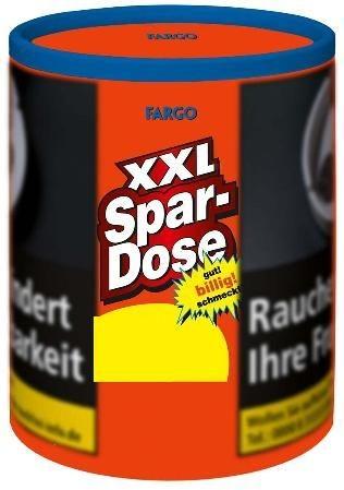 Fargo rot XXL Dose Tabak 140g Dose (Drehtabak / Feinschnitt)