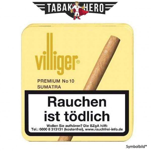Villiger Premium No10 Sumatra (20 Zigarillos)