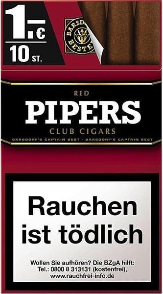 Pipers Little Cigars Red (10 x 10 Zigarren)