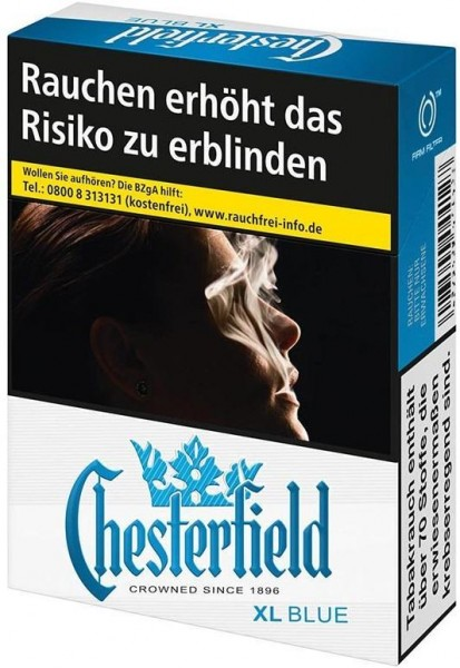 Chesterfield Blue (Stange / 10x21 Zigaretten)