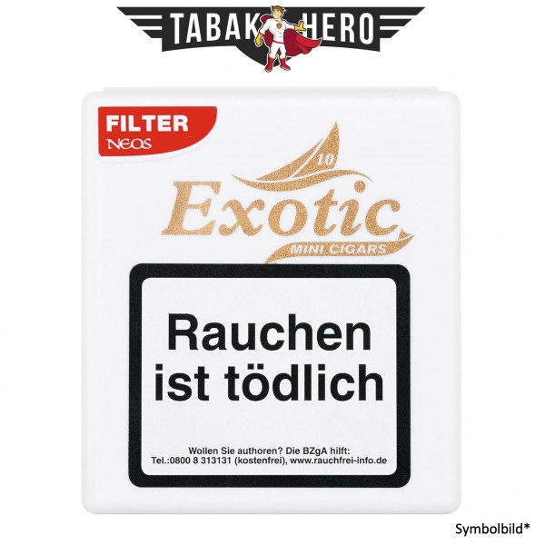 Neos Exotic Filter & Flavor weiß (10x10 Zigarillos)