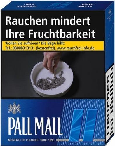 Pall Mall Blue Zigaretten (20 Stück)