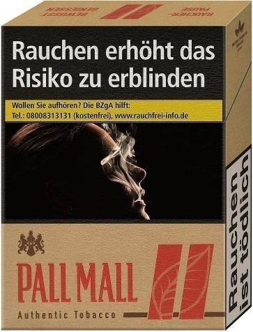 Pall Mall Authentic Red Zigaretten (20 Stück)