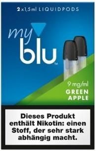 myblu Pod Green Apple (9mg)