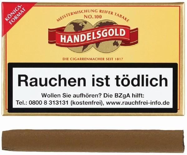 Handelsgold 100 Königsformat (10 Zigarillos)