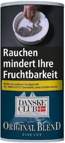 5x Danske Club Original Blend Tabak 40g Pouch (Drehtabak / Feinschnitt)