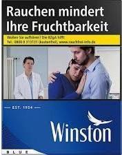 Winston Blue (Stange / 8x34 Zigaretten)