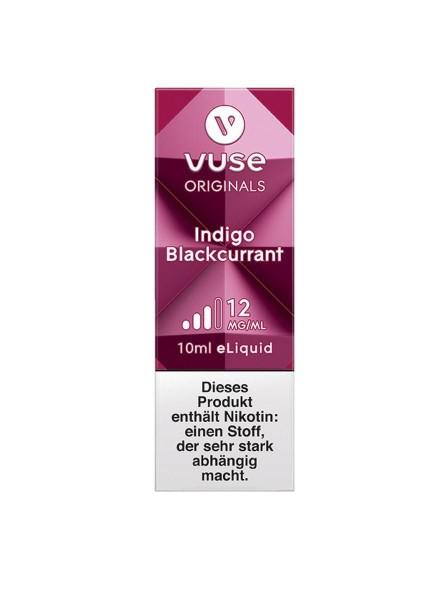 4 x Vuse (Vype) eLiquid Bottle Indigo Blackcurrent 12mg