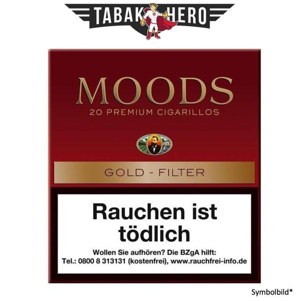 Dannemann Moods Gold Filter (Golden Taste) (20 Zigarillos)