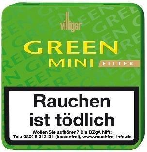 Villiger Green Mini Filter (10 x 20 Zigarillos)