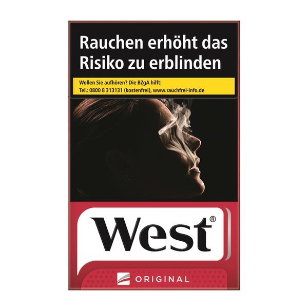 West Original (Stange / 6x50 Zigaretten)