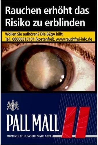 Pall Mall Red (Stange / 10x20 Zigaretten)