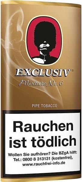 Exclusiv Mixture No.6 (Sherry+Cherry) Tabak 50g Pouch (Pfeifentabak)