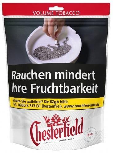 Chesterfield Red Giga Tabak 135g Beutel (Stopftabak / Volumentabak)
