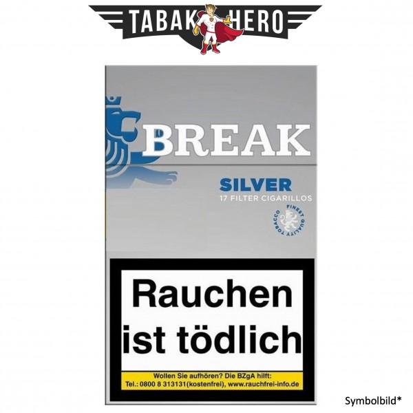 Break Silver Filtercigarillo (Stange / 10x17 Zigarillos)