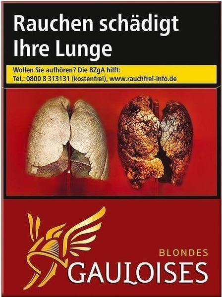 Gauloises Blondes Rot (Stange / 8x23 Zigaretten)