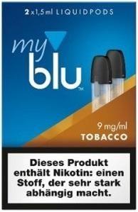 5 x 2 myblu Pod TobaccoRoasted (9mg)