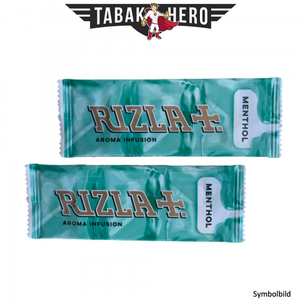 Rizla Aromakarten Menthol - 2 Stück Probierset Aroma Karten (wie HIPZZ)