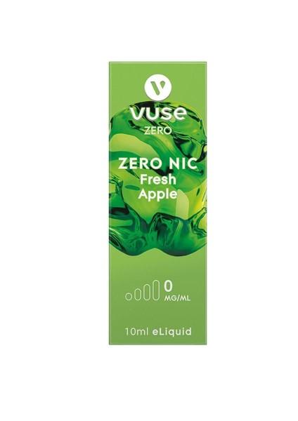 4 x Vuse (Vype) eLiquid Bottle Fresh Apple 0mg