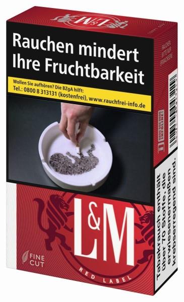 L&M Red (Stange / 8x29 Zigaretten)
