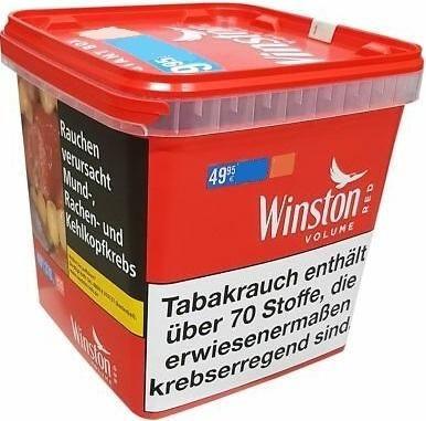 Winston Red Giant Box Tabak 280g Eimer