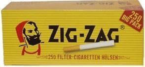 2000 Stück Zig Zag Hülsen Filterhülsen Zigarettenhülsen Stopfhülsen