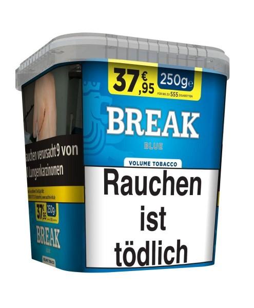 Break Blue Bucket Tabak 240g Eimer (Stopftabak / Volumentabak)