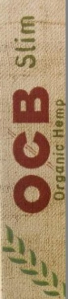 5 x 32 Blatt OCB Organic Hemp Slim Drehpapier/ Blättchen/ Zigarettenpapier
